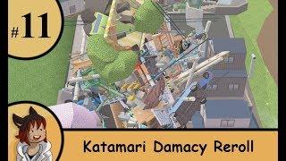 katamari Damacy Reroll part 11 - From rats to buildings