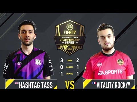 FIFA 17 FUT Champions Championship Hashtag Tass vs Vitality Rockyy