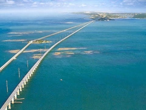 Top 10 most dangerous bridges around the world youtube for Seven fish key west fl