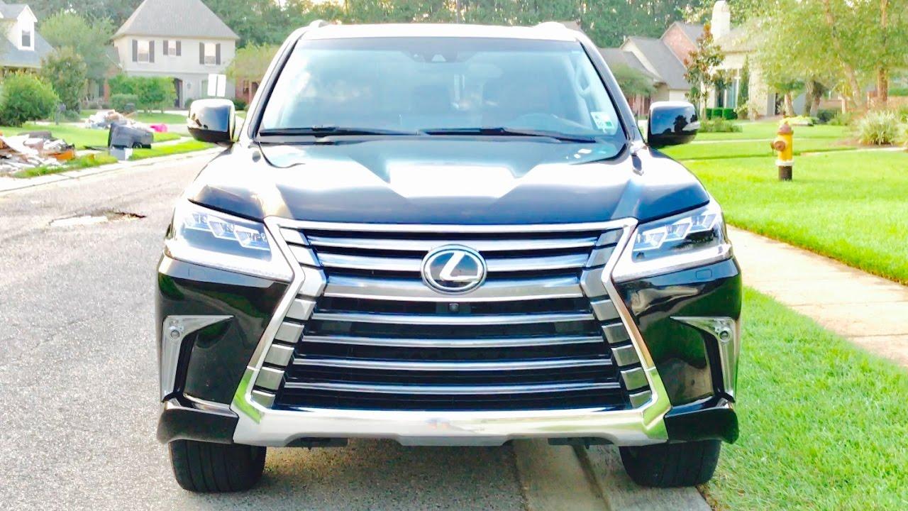 My New 2016 Lexus Lx 570 Full Review Start Up Exhaust Short Drive