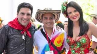 Batalla de Flores Barranquilla 2013 - Carnaval - Revista Mundo Caribe  Agmeth Escaf Bailando