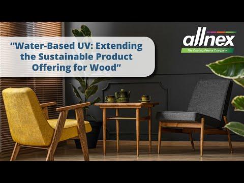 allnex Webinar on Waterborne UV for Wood