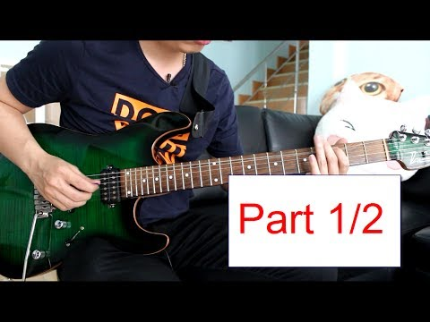 Download Youtube: How to play : Morning Star - Vinnie Moore  Lesson Part 1/2 by Nut