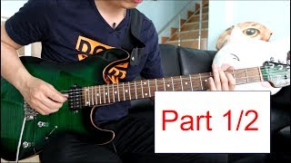 How to play : Morning Star - Vinnie Moore  Lesson Part 1/2 by Nut