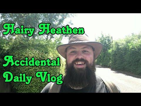 Hairy Heathen   i accidentally made a daily Vlog