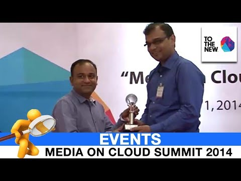 Media on Cloud Summit 2014   Award Ceremony   TO THE NEW