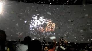 MEGASTAR CHIRANJEEVI entry in khaidi no 150 at sandhya theater
