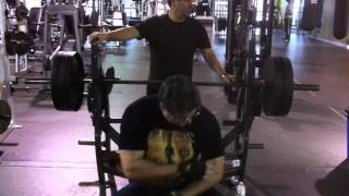 54 year old does over 300lb bench press.