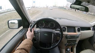 2011 Land Rover Discovery 4 TDV6 HSE POV Test Drive
