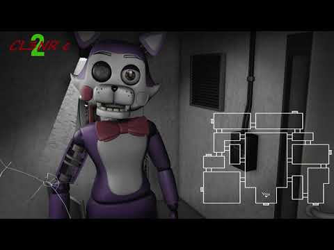 (FNaC SFM) Five Nights At Candy's 2 Animated