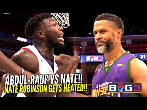 "Nate Robinson vs. ""OG Steph Curry"" Mahmoud Abdul0Rauf vs. Big 3"