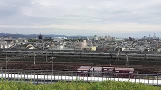 223系2000番台+225系0番台 新快速 湖西線経由敦賀行き 京都鉄道博物館