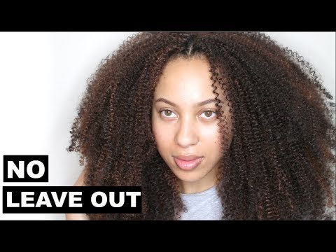QUICK & EASY NO LEAVE OUT CROCHET BRAIDS HAIRSTYLE