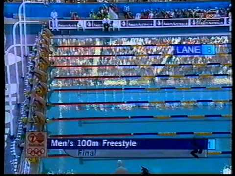 1998 World Swimming Championships - Mens 100m Freestyle