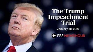 WATCH LIVE: Senate impeachment trial of Donald Trump | January 28