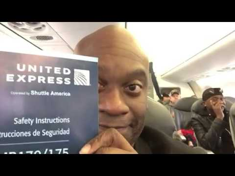 United Airlines EMB 170 ATL To SFO
