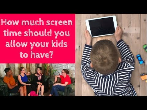 How much screen time should you allow your kids to have?