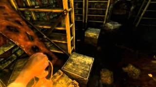 Amnesia: Playthrough Part: 8 - THERE'S SOMETHING SWIMMING IN THE WATER D: