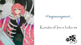 Speed draw of Karuta