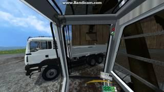 kraz 7140 8x8 excavator farming simulator 2015