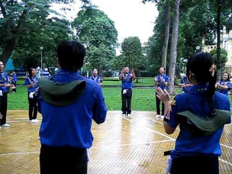 Nghi thức hội cấp Tp (Phần 2: Múa hát tập thể)