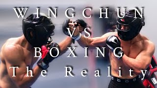 DEDDY CORBUZIER - WINGCHUN ITU APAAN? - The REALITY (VS BOXING. MMA)