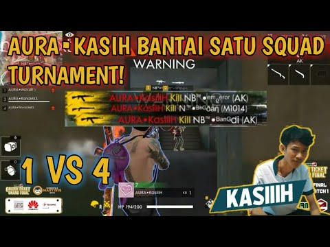 download FRONTAL GAMING (AURA•KASIIH) BANTAI SATU SQUAD DI TURNAMENT GAMEZ GOLDEN TICKET SQUAD!