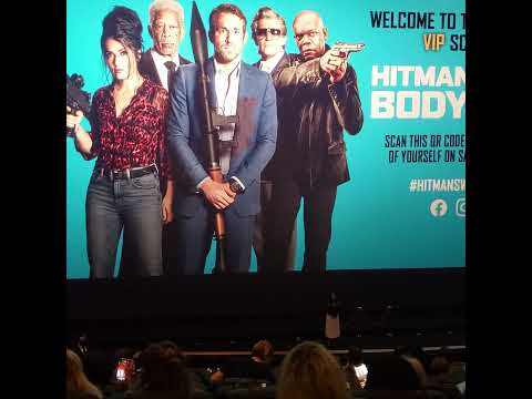 Salma Hayek swears at 'The Hitman's Wife's Bodyguard' premiere audience!