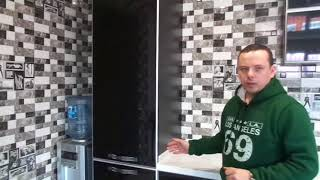 Обзор черно белой кухни в Никольском, Белгородский район