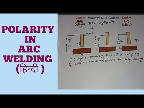 polarity in arc welding (हिन्दी ) youtubepolarity in arc welding (हिन्दी )