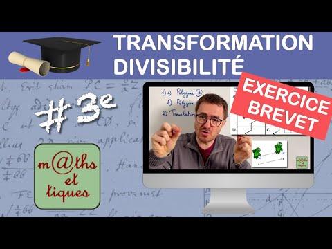 Prépare ton BREVET : Transformations - Divisibilité