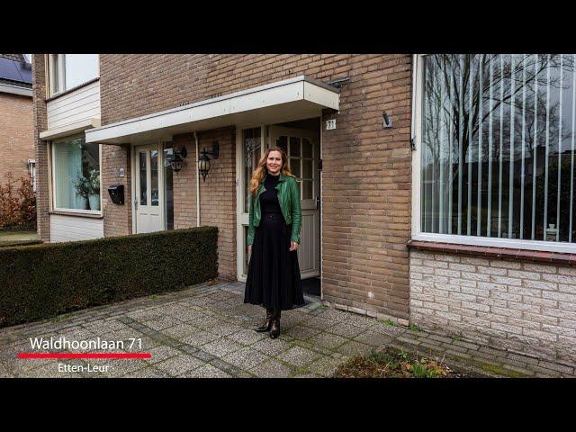 Nieuw in de verkoop: Waldhoornlaan 71 te Etten Leur