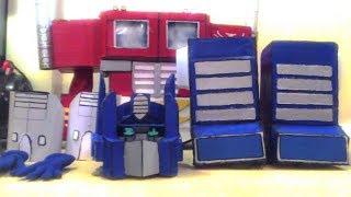 Cardboard Transformers OPTIMUS PRIME G1 Costume