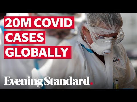 Coronavirus Latest: Global Covid-19 Cases Hit 20 Million, According To Johns Hopkins University