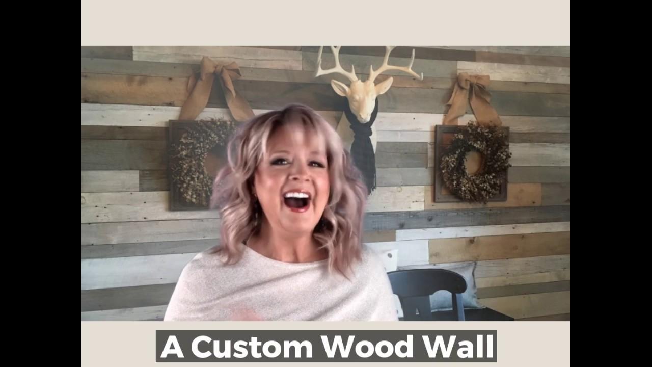 Create your own custom Barnwood wall!