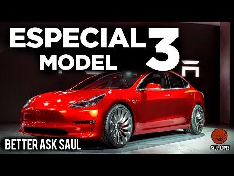 Especial TESLA MODEL 3 (en directo: Better ask Saul)