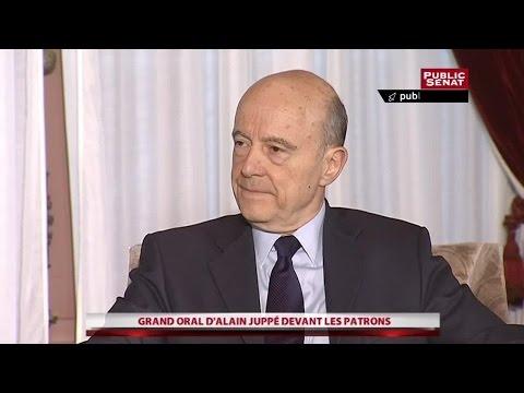 Alain Juppé : Le grand oral face aux patrons - Evénement (17/02/2016)