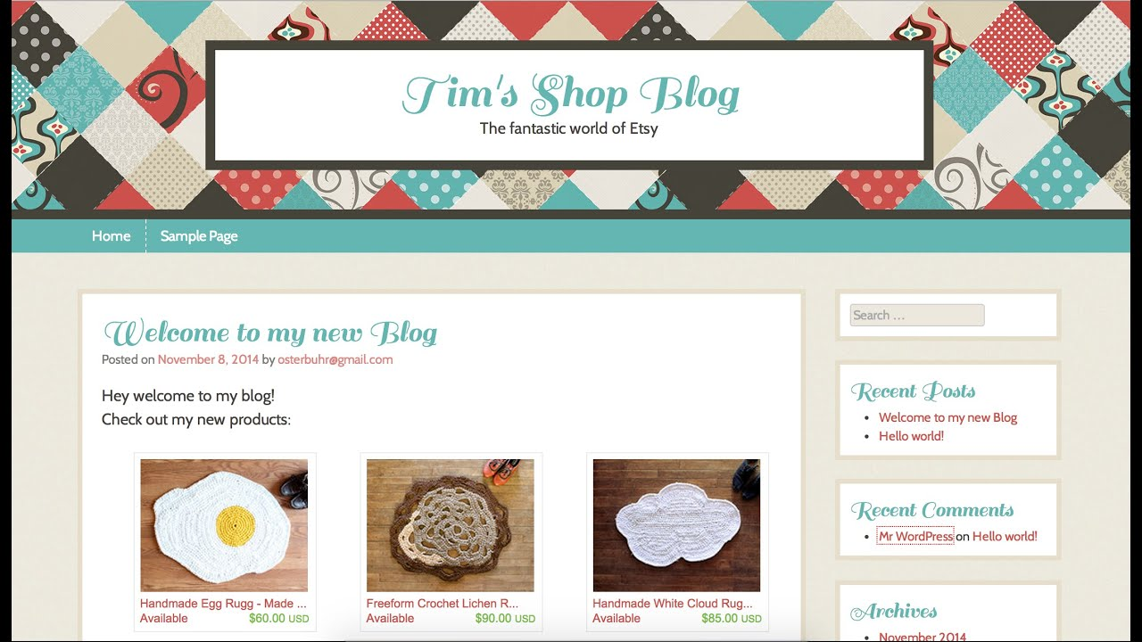 How To Start An Etsy Blog In 10 Minutes: The Fastest Etsy Blog Video Tutorial