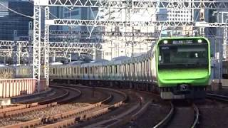 JR山手線E235系東トウ10編成有楽町駅到着