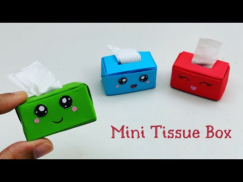 diy-mini-paper-tissue-box-/-paper-crafts-for-school-/-paper-craft-/-easy-kids-craft-ideas