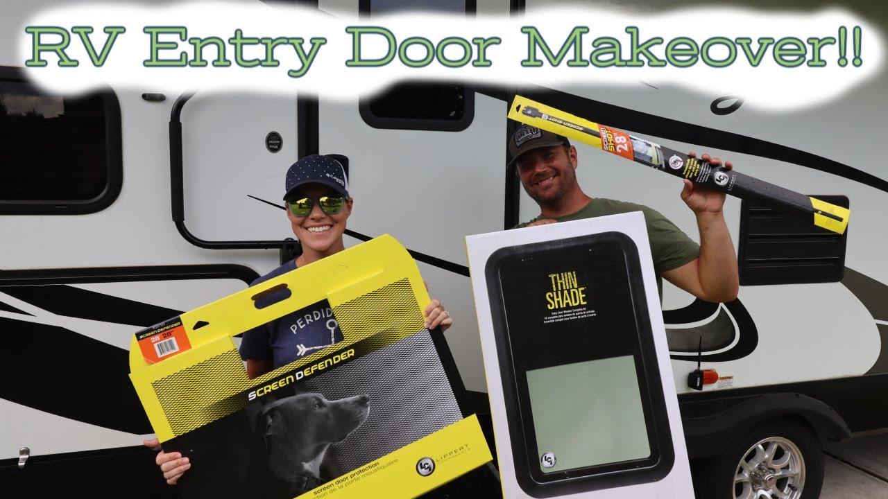 RV Entry Door Makeover!