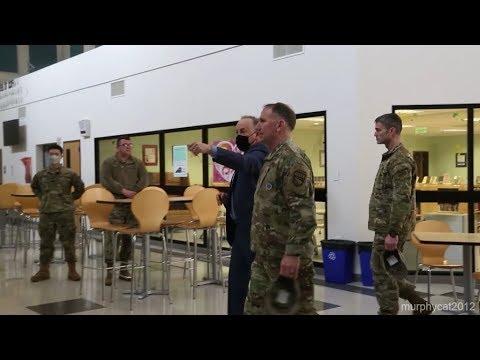 Gen. Robert Abrams Visits USAG Daegu, evaluates US Response to COVID-19