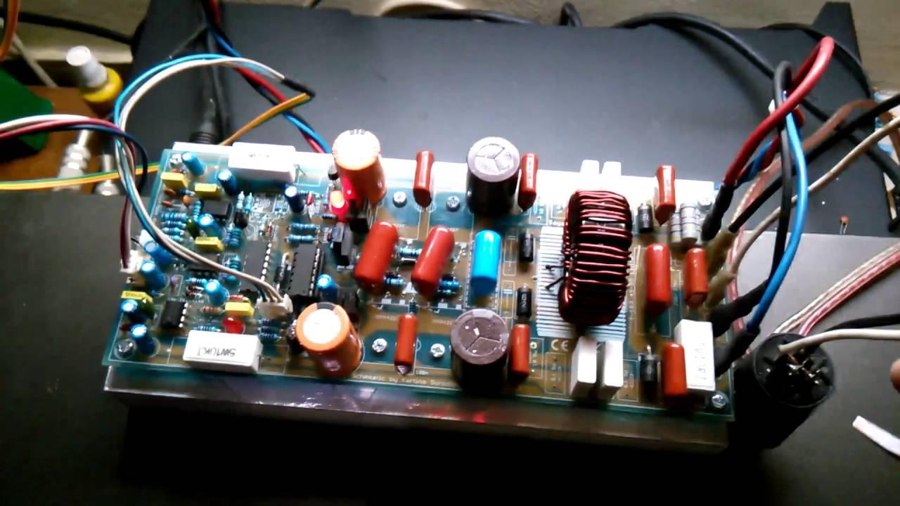 D2kneo Class D Amplifier W 4 Ohm Overcurrent Test
