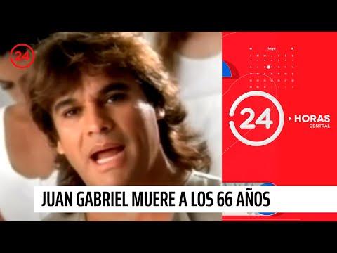 Juan Gabriel muere a los 66 años producto de un infarto