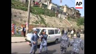 Police fire on protesting lawyers in Nepal''s capital, arrests