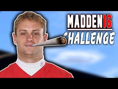 Dustin Colquitt Quarterback Sack! Madden 16 NFL Challenge - Punters VS Kickers