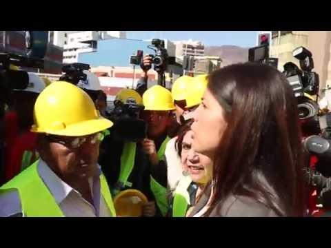 La frustrada reunión de la Alcaldesa de Antofagasta con el Canciller de Bolivia
