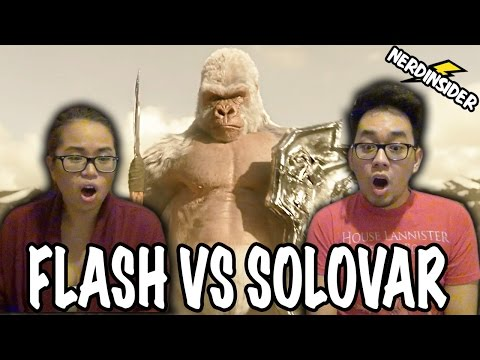 THE FLASH Season 3 Episode 13 Flash VS Solovar Gorilla City REACTION & REVIEW