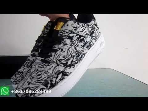 Nike Air Force 1 Upstep Low BHM 920788 100 YouTube