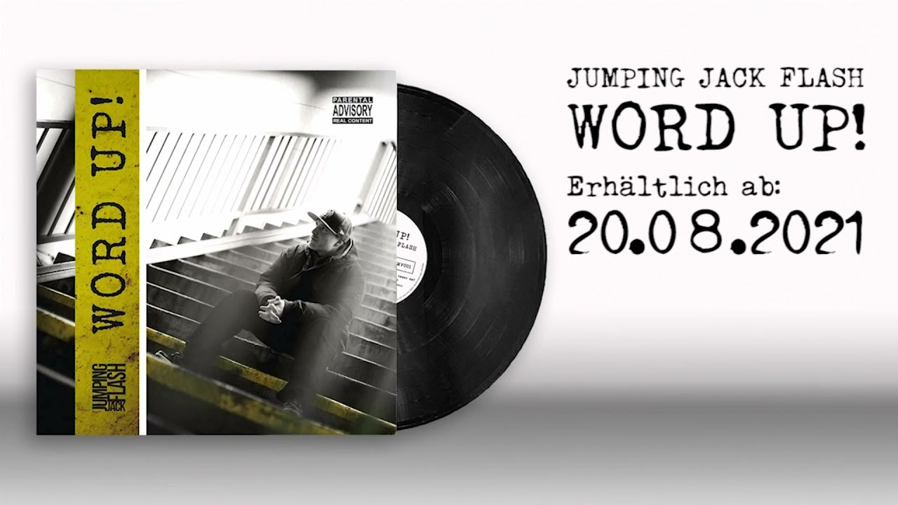 Jumping Jack Flash - Word up - Teaser (Word up! LP Release 20.08.21)